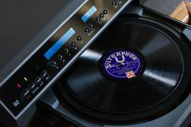 New phonograph: let's listen to the sound of history