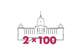 2 × 100