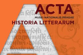 The Publication of the New Issue of Acta Musei Nationalis Pragae – Historia litterarum