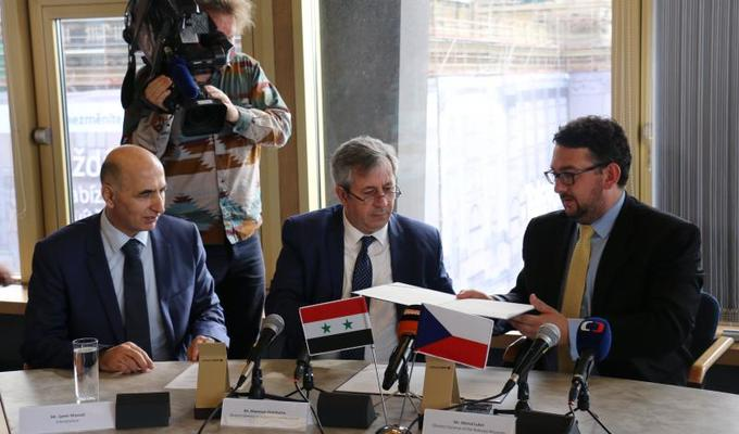 The National Museum and the Directorate General of Antiquities and Museums of the Syrian Arab Republic have begun long-term cooperation in the field of protecting the world's cultural heritage