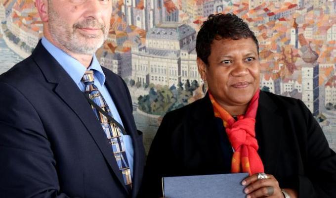 National Museum and Belau National Museum signed the memorandum of understanding