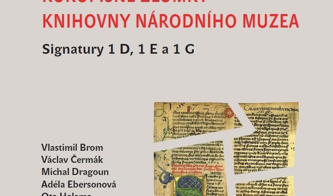 Manuscript Fragments in the National Museum Library. Shelf Marks 1 D, 1 E and 1 G