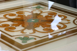 Glass underpainting – damage and preventive conservation