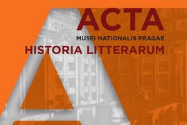 The Publication of a New Issue of the Journal Acta Musei Nationalis Pragae – Historia litterarum