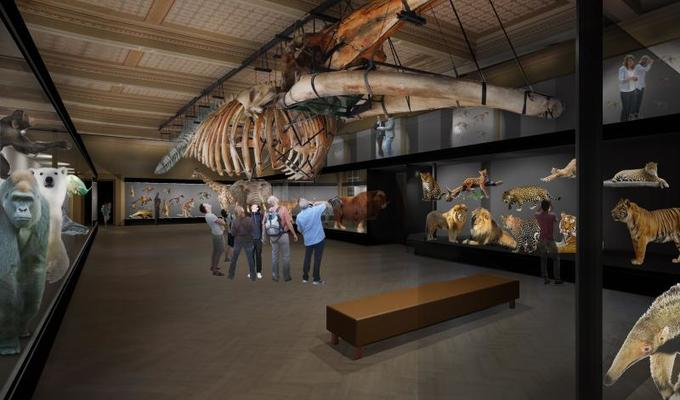 National museum introduced the concept of new permanent exhibitions