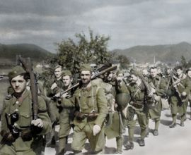 Redeployment of an insurgent infantry in Turiec region