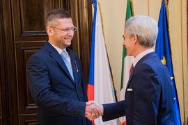 Ředitel Českého muzea hudby Národního muzea obdržel státní vyznamenání Italské republiky