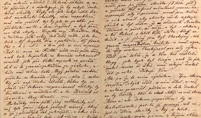 Vyšel druhý svazek souborného kritického knižního vydání korespondence Bedřicha Smetany