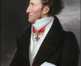František Josef hrabě Šternberk-Manderscheid, olejomalba, autor Josef Lavos, Vídeň, 1836–1839, foto Radovan Boček.