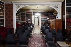 Komentované prohlídky historickým interiérem knihovny Náprstkova muzea