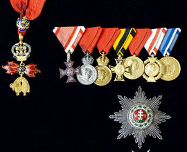 Řády a vyznamenání Františka Ferdinanda D'Este