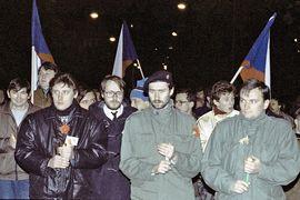 Studenti a revoluce 1989