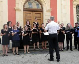 Koncert vokálního souboru Collegium 419, v jehož podání zazněly Dvořákovy oblíbené recepty