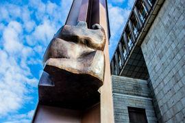 Národní muzeum představilo dokončený Palachův pylon