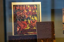 V Národním muzeu jsou k vidění Moderní knižní obálky z muzejní knihovny