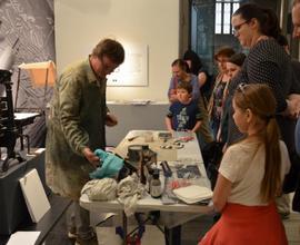 Tiskařská dílna tematicky doplnila aktuální výstavu o českém exlibris