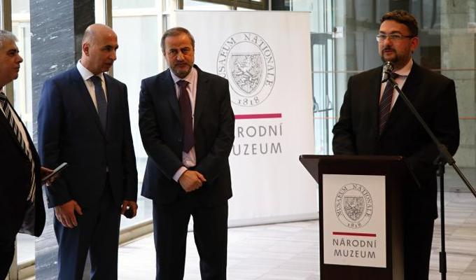 Národní muzeum a Generální ředitelství Památek a muzeí Syrské arabské republiky pokračují ve spolupráci na ochraně světového kulturního dědictví