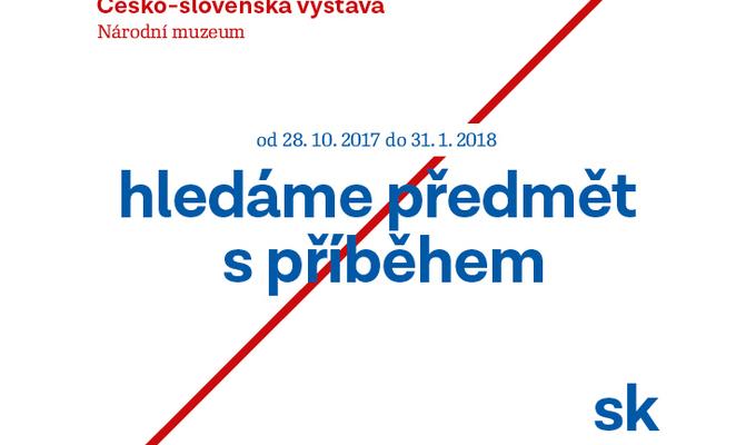 Hledáme předmět s příběhem! Staňte se součástí výstavy ke 100 letům od založení Československa