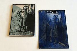 Moderní knižní obálky z muzejní knihovny