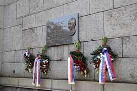 Uctění památky Alexandera Dubčeka