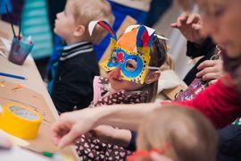 Tradiční řemeslné dílny pro děti – Masopustní masky