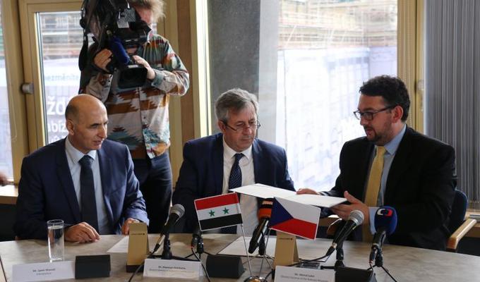 Národní muzeum a Generální ředitelství Památek a muzeí Syrské arabské republiky zahájily dlouhodobou spolupráci na ochraně světového kulturního dědictví