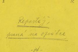 Sbírka Muzea dělnického hnutí v Archivu Národního muzea