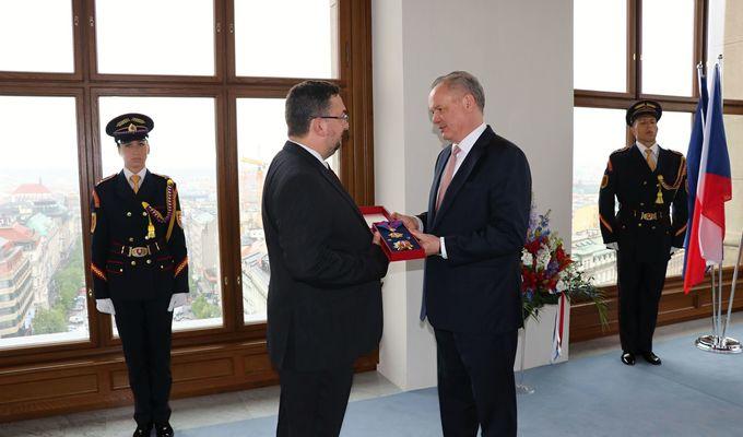 Historickou budovu Národního muzea navštívil prezident Slovenské republiky Andrej Kiska
