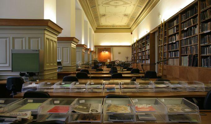 Stěhování Knihovny NM do Historické budovy NM a provoz studoven