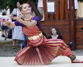 Etnopiknik nabídl také ukázky tradičních tanců