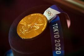 Zlatá medaile Lukáše Krpálka z letošní olympiády je vystavena v Národním muzeu