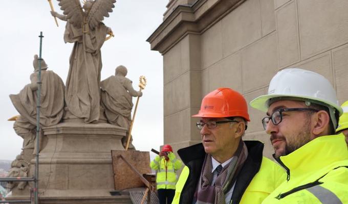 Ministr kultury Ilja Šmíd zavítal do Historické budovy Národního muzea