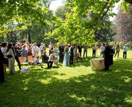 Svatební obřad v zámku a parku Vrchotovy Janovice