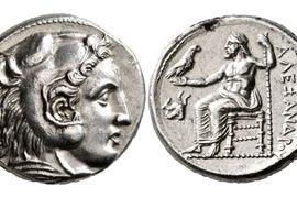 Alexandr Veliký nebo Héraklés? Portréty helénistických panovníků na mincích