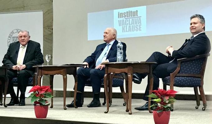 Bývalí premiéři ocenili hladký průběh rozdělení Československého státu