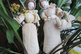 Tradiční řemeslné dílny – Figurky z kukuřičného šustí