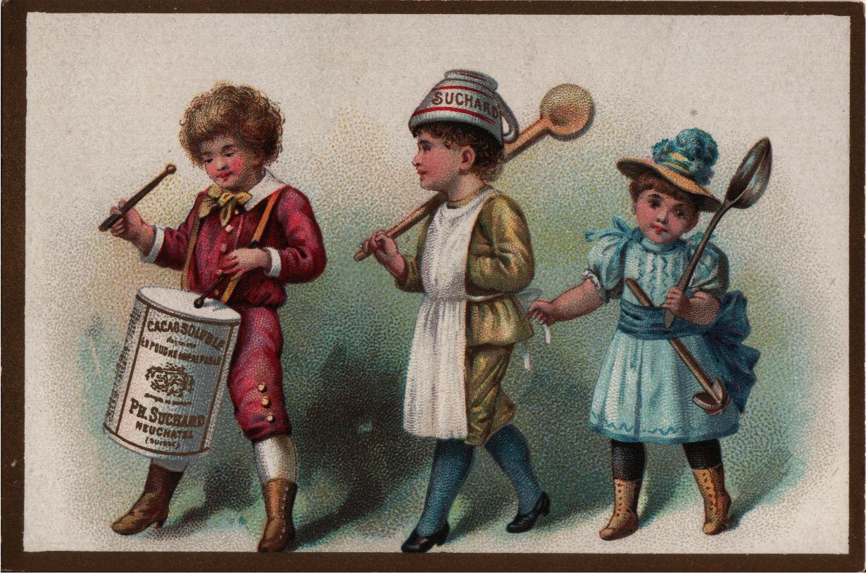 Reklamní obrázek na čokoládu