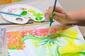 Arteterapeutické malování a modelování