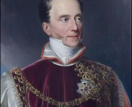 František Antonín Libštejnský z Kolovrat, olejomalba, Johann Nep. Ender, Vídeň, 1839, foto Radovan Boček.