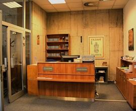Výpůjční protokol – vstupní prostor – Knihovny NM v Nové budově NM