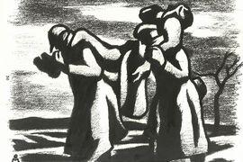 Otto Matoušek: Kresby z koncentráku