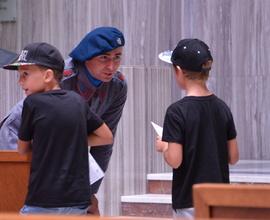 Děti se setkaly s historickými postavami