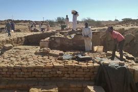Objev Esetina chrámu v súdánském Wad Ben Naga