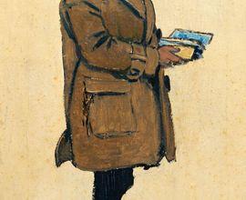 Joža Úprka, František Kretz, olej, Slovácké muzeum v Uherském Hradišti