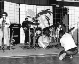 Extempore ve sportovní hale na Folimance, IX. Pražské jazzové dny, 3. prosinec 1979, foto Jiří Kučera