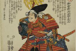 Fenomén dřevořezů muša-e v díle Utagawy Kunijošiho