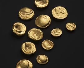 Keltské mince z depotu ve Starém Kolíně