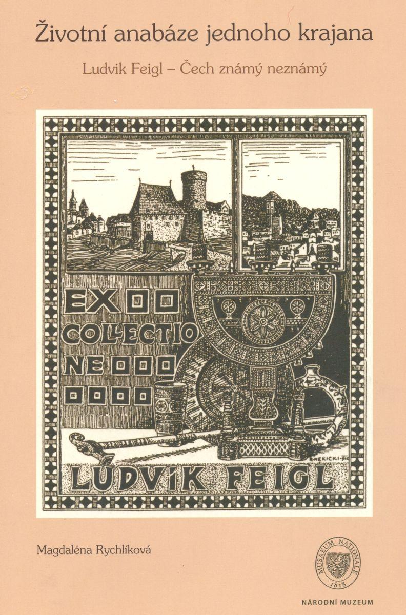 Exlibris krajana Ludvíka Feigla od R. Mekického