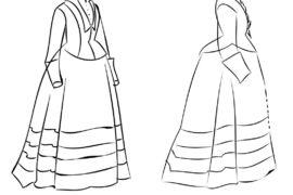 Průzkum a systematické zpracování vybraných oděvů druhé poloviny 19. století ze sbírek HM-NM