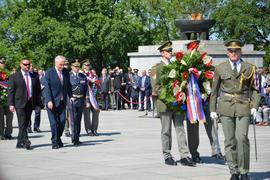 Oslavy 73. výročí Dne vítězství v Národním památníku na Vítkově